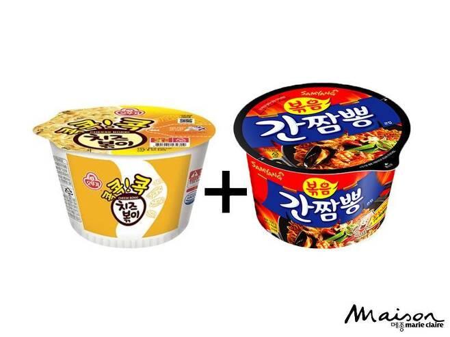 출처: ⓒ오뚜기(좌), 삼양(우)