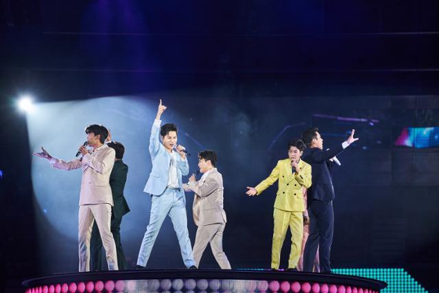 지난해 8월 열렸던 '미스터트롯' 콘서트. 쇼플레이 제공