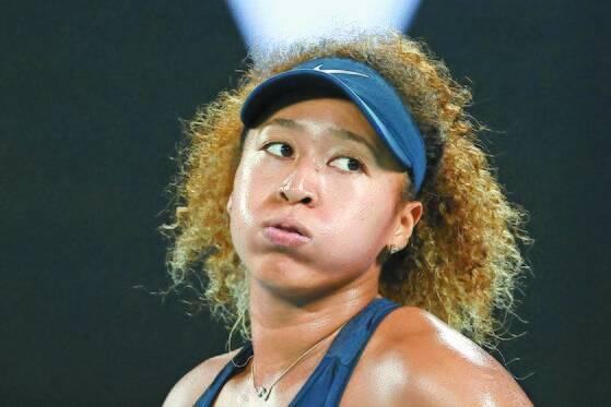 우울증을 앓고 있는 테니스 스타 오사카 나오미. [AFP=연합뉴스]
