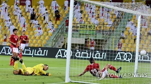신태용의 인도네시아팀, UAE에 0-5 패배 [AFP=연합뉴스]