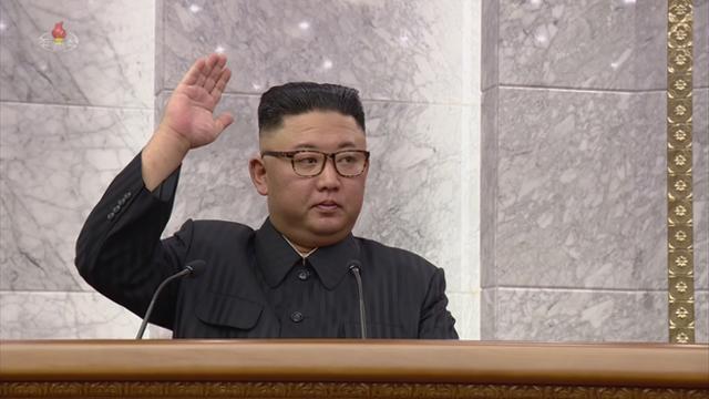 북한이 15일 김정은 총비서 주재로 노동당 중앙위원회 제8기 제3차 전원회의를 열었다고 조선중앙TV가 16일 보도했다. 평양=조선중앙통신 연합뉴스