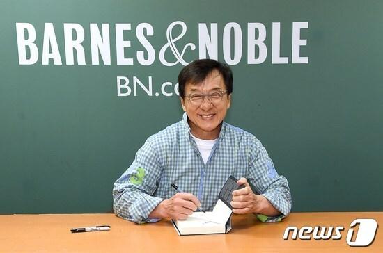홍콩의 영화배우 겸 감독 청룽. © AFP=뉴스1