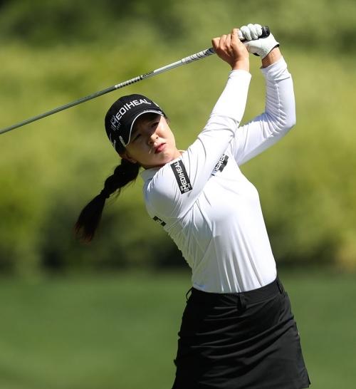 2021년 미국여자프로골프(LPGA) 투어 메이저 대회인 아문디 에비앙 챔피언십에 출전하는 김세영 프로. 사진제공=Getty Image