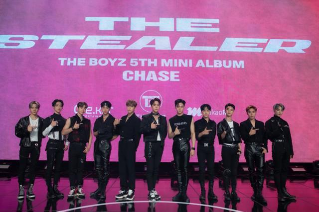 그룹 더보이즈(THE BOYZ)가 다음 달 9일 컴백한다. 크래커엔터테인먼트 제공