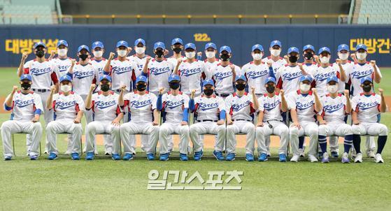 한국 야구대표팀. 고척=김민규 기자