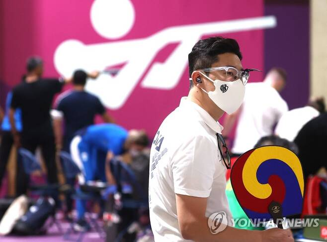 [올림픽] 비장한 표정의 진종오 [연합뉴스 자료사진]