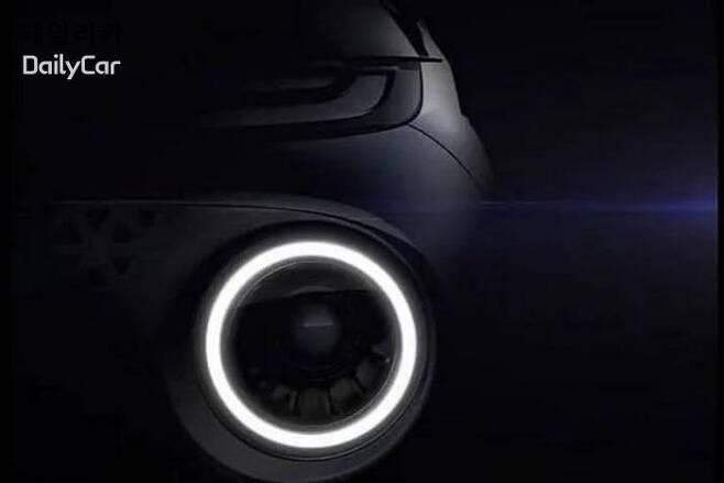 현대차, 경형 SUV AX1(코드명) 티저 이미지 </figcation>