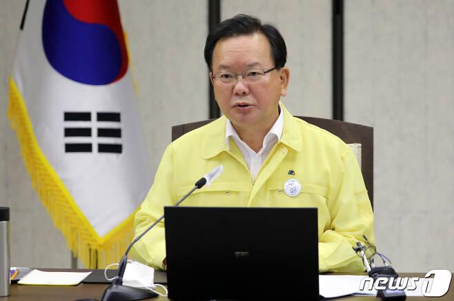김부겸 국무총리 2021.7.28/뉴스1 © News1 장수영 기자