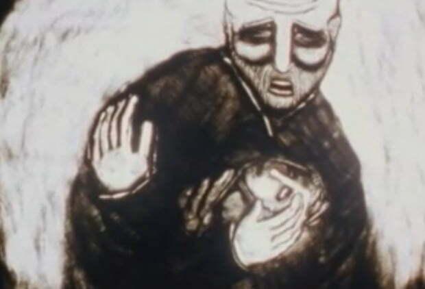 벤 젤코위츠(Ben Zelkowicz) 감독의 단편 애니메니션 작품 'The ErlKing' 속 한 장면. 사진 출처=캐나다 국립 영화 위원회