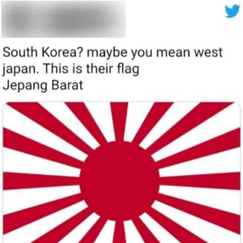 일본 누리꾼의 주장을 접한 인도네시아 누리꾼도 한국 비난에 합세했다. 해당 SNS 캡처