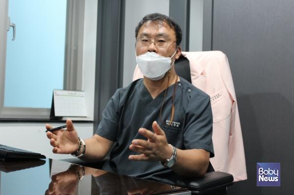 성모아이한의원장 김성철 한의학 박사. ⓒ성모아이한의원