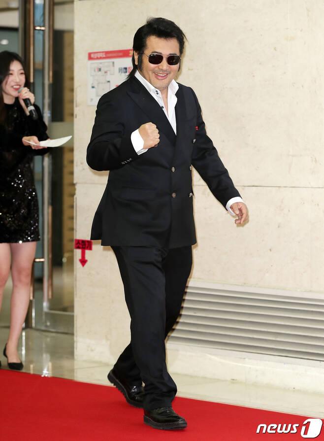 배우 김보성 © News1 김진환 기자