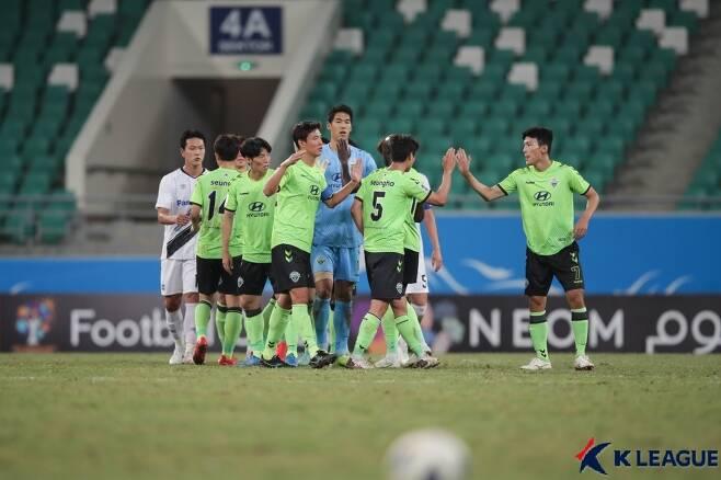 ACL에 나선 전북 현대(한국프로축구연맹 제공)© 뉴스1