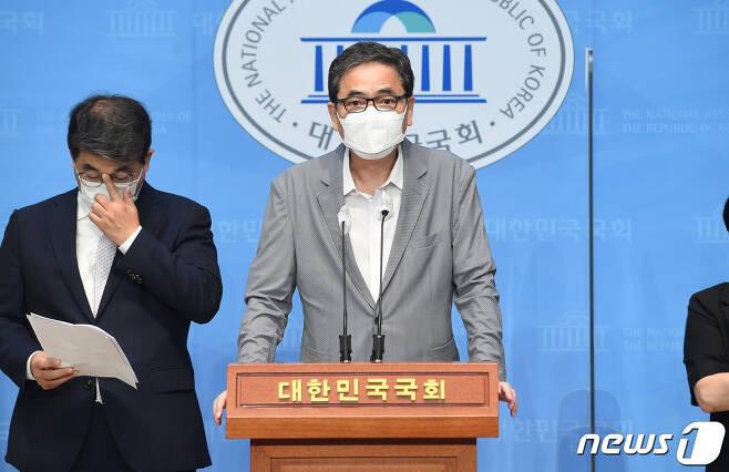 곽상도 국민의힘 의원. 2021.8.17/뉴스1 © News1 구윤성 기자
