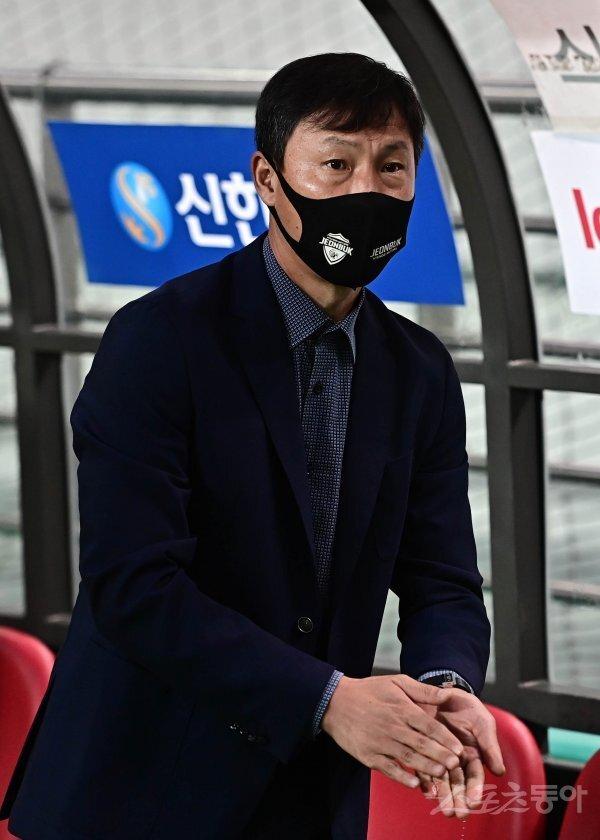 전북 김상식 감독. 스포츠동아DB