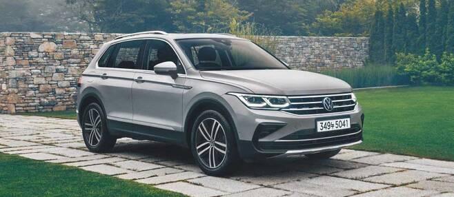 폭스바겐은 지난 7월 준중형 SUV 신형 '티구안'을 출시했다.  /폭스바겐 제공