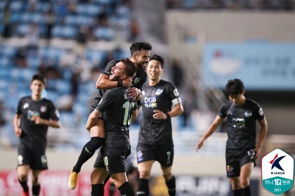 대구FC. 한국프로축구연맹 제공