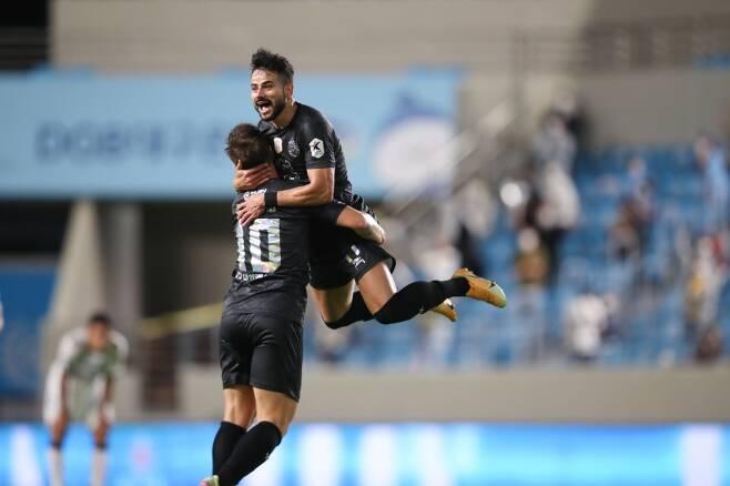 ▲ 대구FC 세징야가 K리그1 30라운드 최우수선수(MVP)에 선정됐다. ⓒ한국프로축구연맹