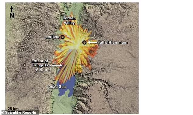 케넷 박사는 이 소행성 공중 폭발 사건을 길이 60m의 소행성이 동시베리아 타이가(침엽수림) 숲 상공에서 폭발해 약 12메가톤급의 폭발력을 일으킨 퉁구스카 폭발 사건에 비유했다.(사진=사이언티픽 리포트)