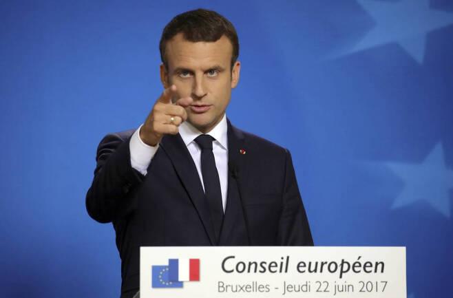 마크롱 프랑스 대통령