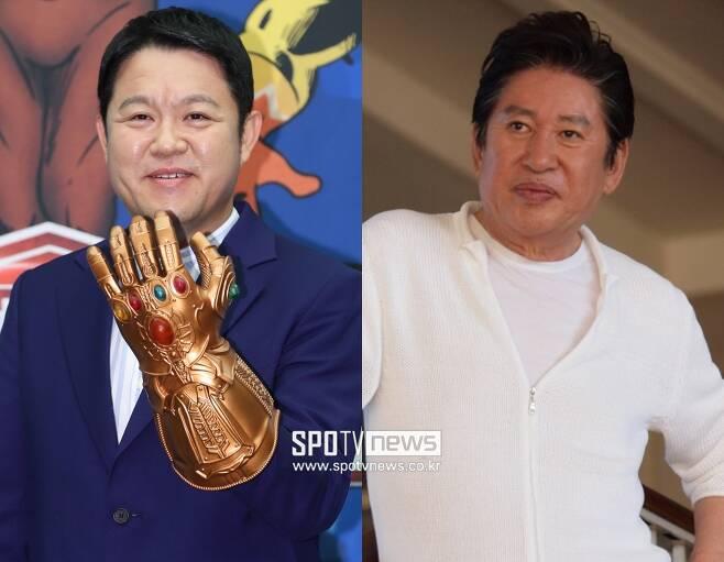 ▲ 김구라(왼쪽), 김용건. ⓒ스포티비뉴스DB, MBC