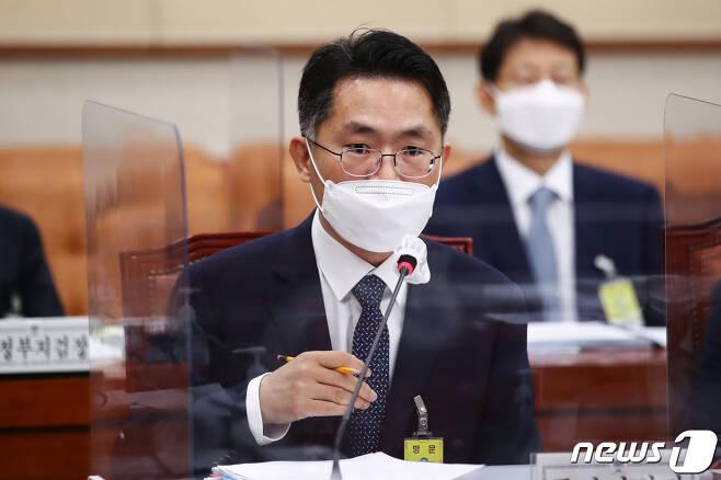 이정수 서울중앙지검장.  © News1 오대일 기자