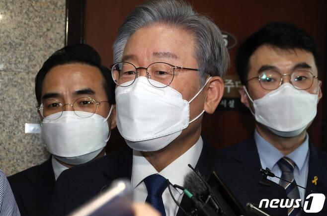 더불어민주당 대선후보인 이재명 경기도지사. 2021.10.13/뉴스1 © News1 이동해 기자