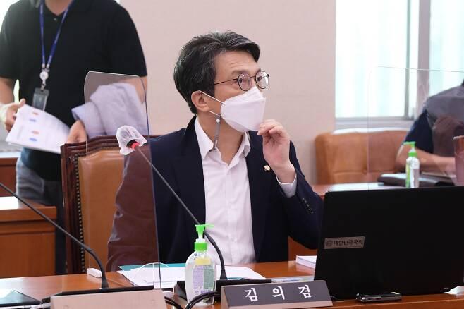 열린민주당 김의겸 의원. /국회사진기자단