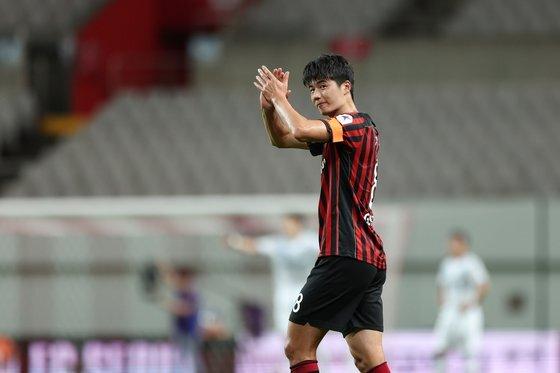 기성용. 사진=한국프로축구연맹 제공