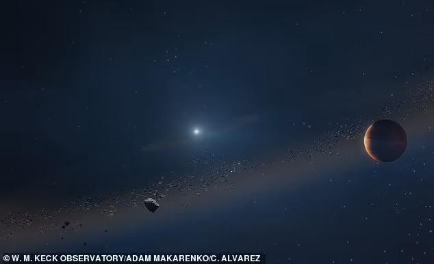 백색왜성은 태양과 비슷한 질량을 지닌 별의 진화 마지막 단계로 매우 밀도가 높은 별이다.(사진=W.M. 켁 천문대)